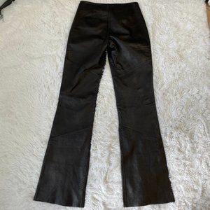 Wilsons Genuine Leather Pants Black Size 4